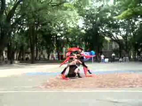 Танец одесских черлидеров
