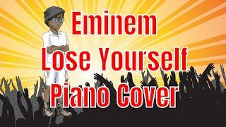 Eminem Lose Yourself Piano Cover | Piano Sheet