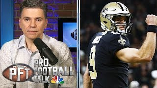 More likely: Chiefs or Saints return to conference title game? | Pro Football Talk | NBC Sports