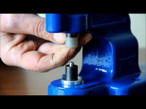 Micron TEP-1  Attaching machine Closed Cap Bebeto Snap Installation