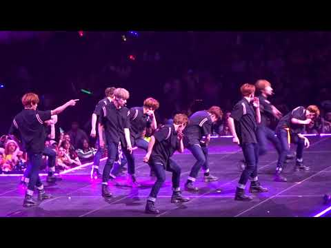 KCON NY 2018 Day 2 - Golden Child - Talk + Crush