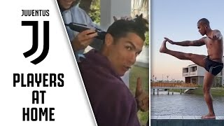 Ronaldo's Haircut, Dybala's Home Workout & Costa's Pet Playtime | #StayHome with Juventus | Part One