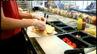 Local sandwich artists brings new meaning to fast food