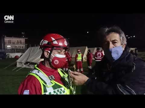 Ο Ερυθρός Σταυρός στο σεισμό της Ελασσόνας 3ος 2021