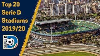 Top 20 Serie D Stadiums 2019/20