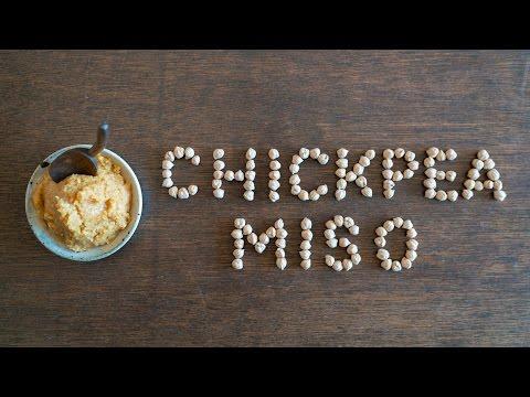 Homemade Chickpea Miso ☆ ひよこ豆味噌の作り方