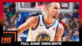 Golden State Warriors vs Minnesota Timberwolves Full Game Highlights / Week 4 / 2017 NBA Season