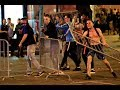 Fans clash with police while celebrating France's World Cup semifinal win