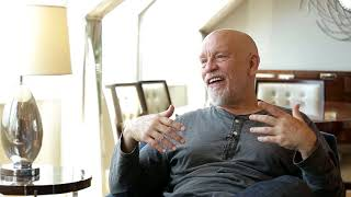 Interview with John Malkovich at The Ritz Calrton in Budapest