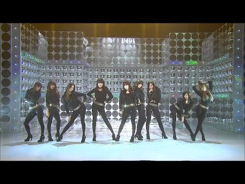 【TVPP】SNSD - Run Devil Run, 소녀시대 - 런 데빌 런 @ New Song Stage, Show Music Core Live
