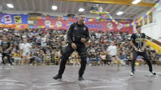 SRO Dances at High School to Say Goodbye