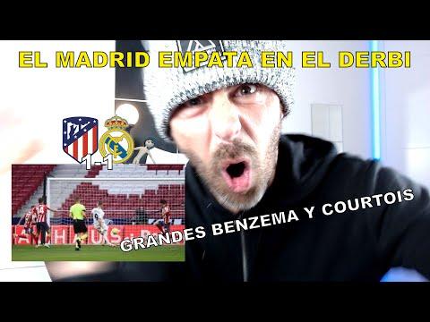 REACCIÓN MADRIDISTA al ATLÉTICO DE MADRID 1 REAL MADRID 1