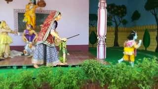 Amazing Video Of Putna Vadh By Krishna Prem Mandir Vrindavan