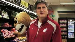 """Mike Leach """"Waves It""""- Join The Cougar Athletic Fund"""