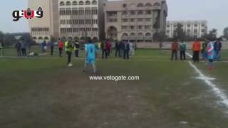 دورة كرة قدم خماسية للعاملين بكليات جامعة الأزهر     -