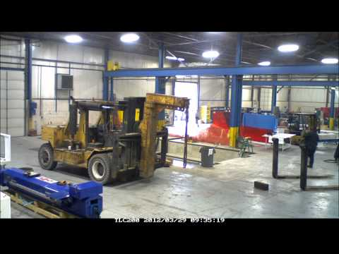 Henri Line' Milling Machine Installation