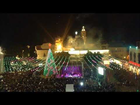 Lighting the Bethlehem Christmas tree  2017