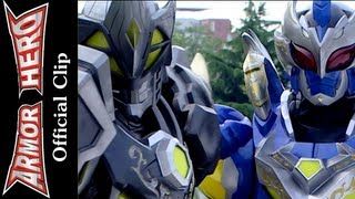 Armor Heroes Fight with the Moth Monster - Armor Hero Official English Clip  [HD 公式] - 46