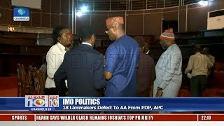 18 Imo Lawmakers Defect To AA From PDP, APC Pt.1 06/12/18  News@10 