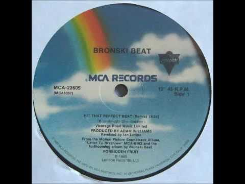 BRONSKI BEAT - Hit That Perfect Beat (Remix) [HQ]