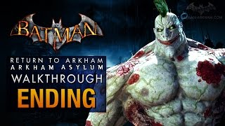Batman: Return to Arkham Asylum Ending - Joker's Party