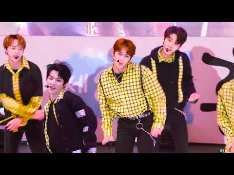 181019 The Boyz(더보이즈) 현재(Hyunjae) - Right Here+Giddy Up+Boy / 남원흥부제