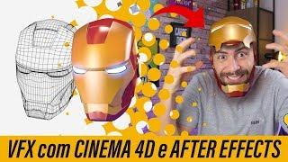 Capacete IRON MAN - VFX com C4D e After Effects | Como eu faço #28