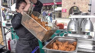 Fried Chicken Mexican Style. London Street Food