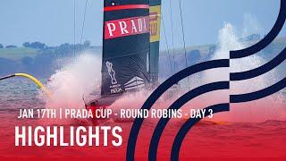 PRADA Cup Day 3 Highlights