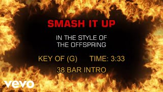 The Offspring - Smash It Up (Karaoke)