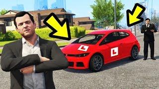 Taking my DRIVING TEST in GTA 5!