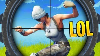 FUNNIEST SNIPER WIN EVER | Fortnite Best Stream Moments #34 (Battle Royale)