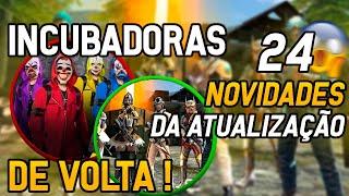 INCRÍVEL!  INCUBADORAS DE VOLTA ! TOP  CRIMINAL E LOBO &  ELFA!! E 24 NOVIDADES QUE CHAGARÁ DIA 8!!