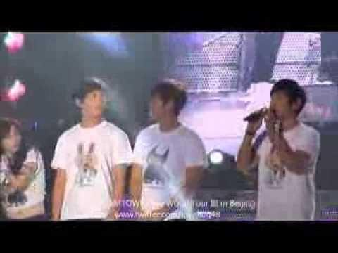 TVXQ, Heechul ...  Ending SMTOWN in Beijing
