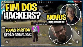 FIM DOS HACKERS NA PROX ATUALIZAÇAO! PARTIDAS GRAVADAS E NOVOS PERSONAGENS VEJA TUDO NESSE VIDEO!