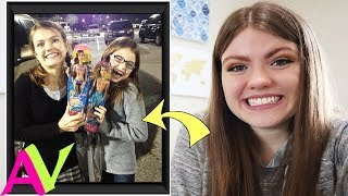 Then and Now - Reacting To Childhood Photos / Aud Vlogs