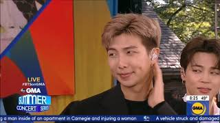 BTS Interview on Good Morning America May 15, 2019 Love Yourself Tour