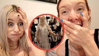 WE BOUGHT A $45 WEDDING DRESS!!