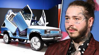 Post Malone's $4,000,000 Car Collection