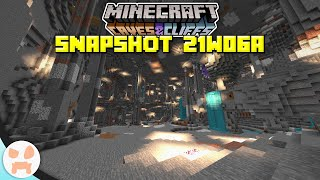 COMPLETE CAVE GENERATION REVAMP! | Minecraft 1.17 Caves and Cliffs Snapshot 21w06a