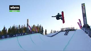 Kelly Clark's Second Place Run - Women's Superpipe 2017 Dew Tour