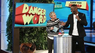 Ellen and Idris Elba Play 'Danger Word'
