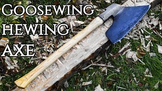 Restoration - Goosewing Hewing Axe