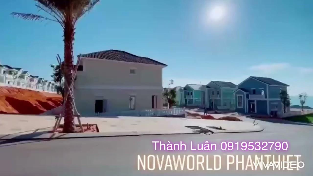 Biệt thự đơn lập 10x20m khu 3 giá rẻ nhất tại [Novaworld Phan Thiết] Lh: 0919532790 video