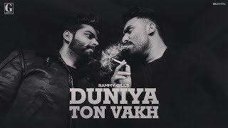 Duniya Ton Wakh – Rammy Gill