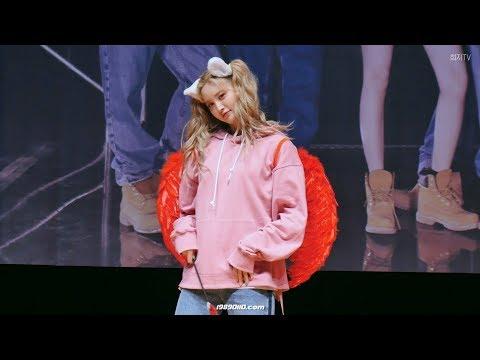 [4K] 180415 EXID(정화) 내일해(LADY) 이벤트 직캠 feat. 혜린 @일산 팬사인회 4