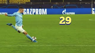 PHIL FODEN - ALL 29 GOALS FOR MANCHESTER CITY SO FAR