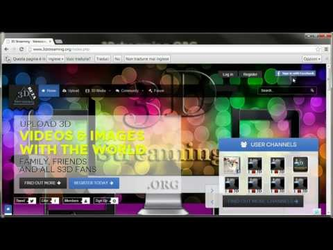 How to add 3D video YT3D to 3Dstreaming.ORG | Guide | Tutorial