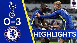 Tottenham 0-3 Chelsea   Silva, Kanté & Rudiger Secure Derby Win!    Highlights