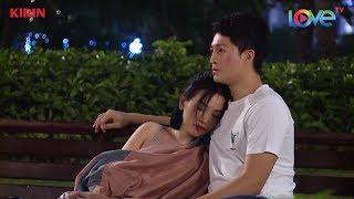 Sĩ Thanh bất ngờ tựa vào vai Harry Lu ngủ gật cực kỳ hạnh phúc trong công viên 💏